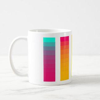 虹の勾配のマグ コーヒーマグカップ