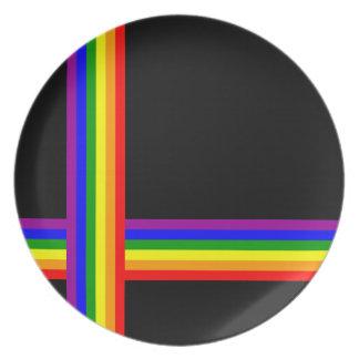 虹の十字 プレート