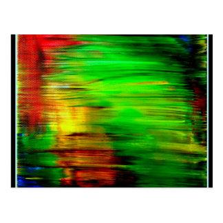 虹の反射 ポストカード