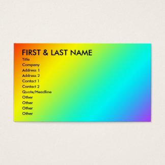 虹の名刺。 M. 名刺
