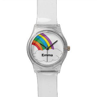 虹の名前入りな腕時計 腕時計