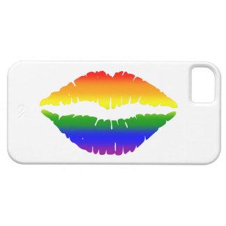 虹の唇のキス iPhone SE/5/5s ケース