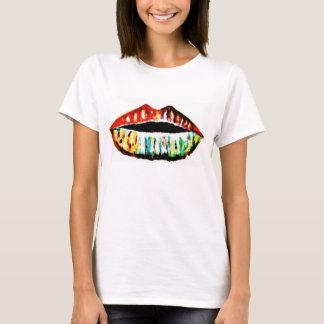 虹の唇 Tシャツ