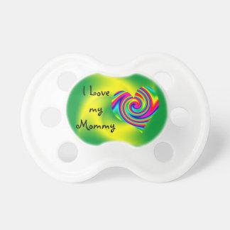 虹の回転のハート: 愛お母さん おしゃぶり