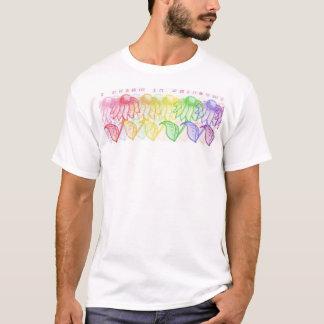 虹の夢-戦いのエイズ Tシャツ