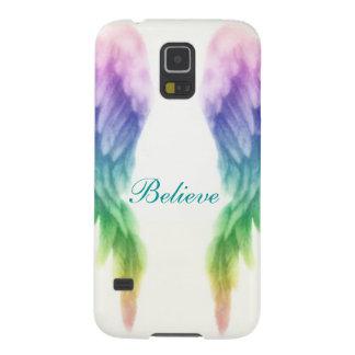 虹の天使の翼 GALAXY S5 ケース