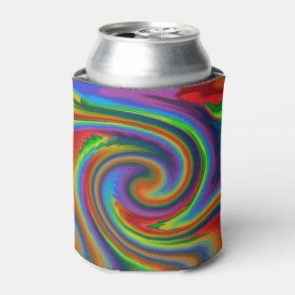 虹の太陽のな白熱 缶クーラー