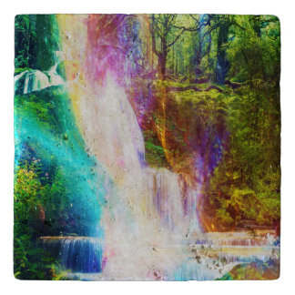虹の女の子の庭 トリベット