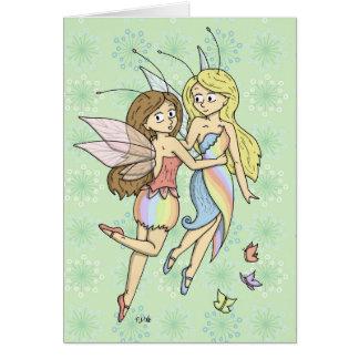 虹の妖精 カード