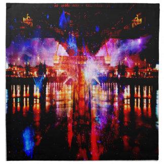 虹の宇宙橋 ナプキンクロス