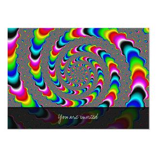 虹の宇宙-フラクタルの芸術 カード
