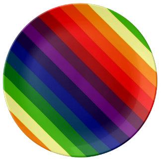 虹の完全さ! ~ 磁器プレート