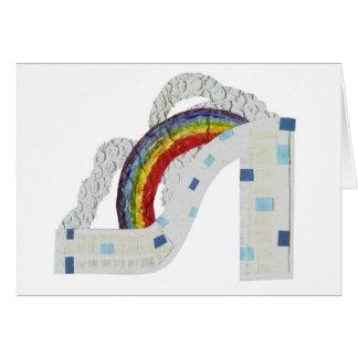 虹の小剣の挨拶状 カード