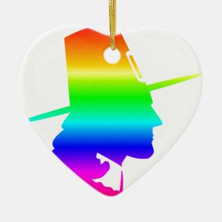 虹の巡礼者 セラミックオーナメント