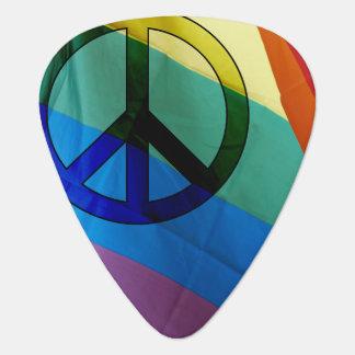 虹の平和ギターピック ギターピック