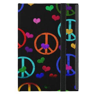 虹の平和ハート iPad MINI ケース