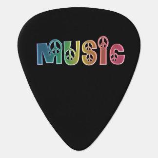 虹の平和音楽 ギターピック
