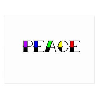 虹の平和 ポストカード