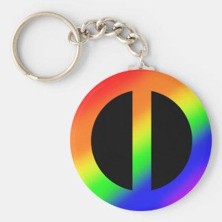 虹の平等Keychain キーホルダー