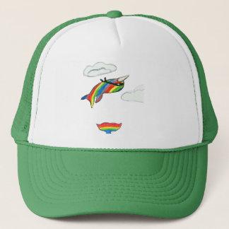虹の忍者Narwhal キャップ