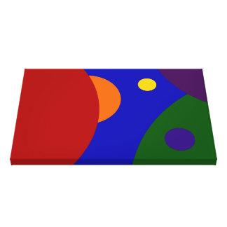 虹の惑星 キャンバスプリント