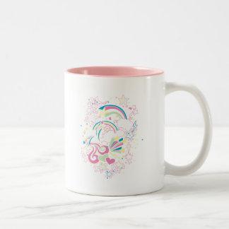虹の想像 ツートーンマグカップ