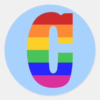 虹の手紙C ラウンドシール