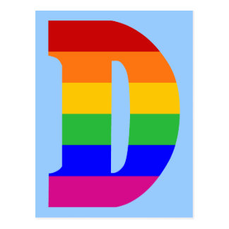 虹の手紙D ポストカード