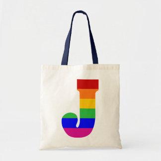 虹の手紙J トートバッグ