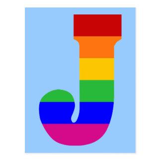 虹の手紙J ポストカード