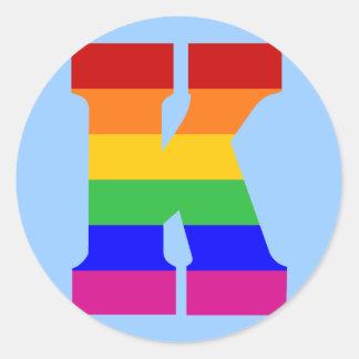 虹の手紙K ラウンドシール