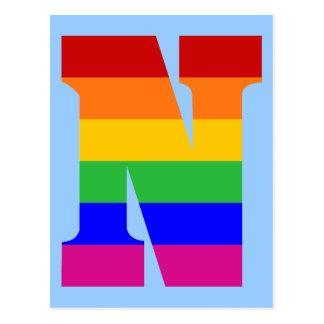 虹の手紙N ポストカード