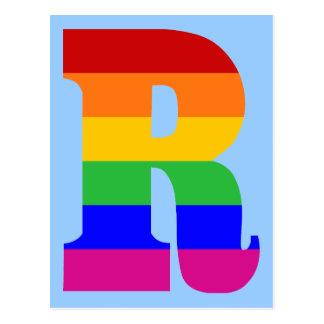 虹の手紙R ポストカード