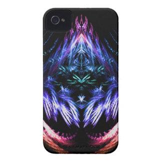 虹の振動フラクタル Case-Mate iPhone 4 ケース