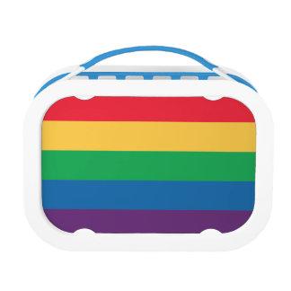 虹の旗のプライドのランチボックス ランチボックス
