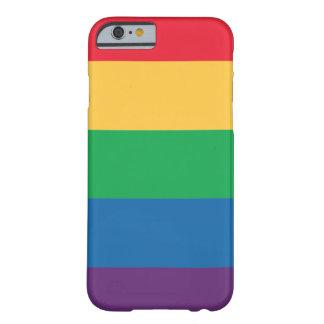 虹の旗のプライドのiPhone6ケース Barely There iPhone 6 ケース