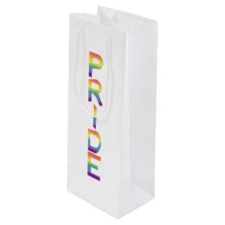 虹の旗のプライド ワインギフトバッグ