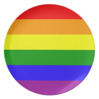虹の旗のプレート プレート