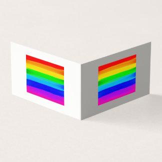 虹の旗の挨拶状 カード
