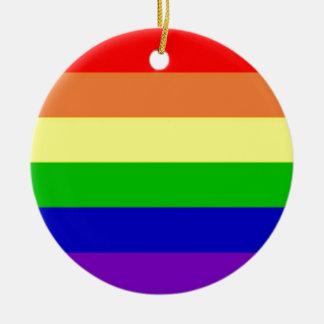 虹の旗 セラミックオーナメント