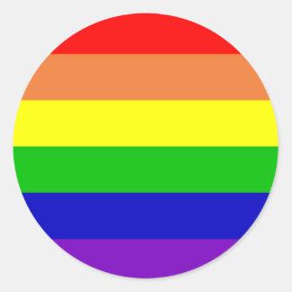 虹の旗 ラウンドシール