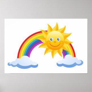 虹の日曜日のオフィスは運命の運命を個人化します ポスター