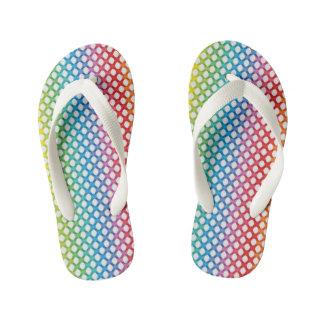 虹の明るい子供のビーチサンダル キッズビーチサンダル