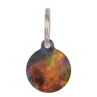 虹の星および銀河系 ペット ネームタグ