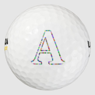 虹の星の手紙A ゴルフボール