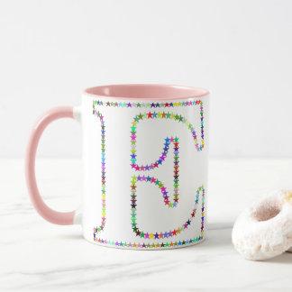 虹の星の手紙E マグカップ