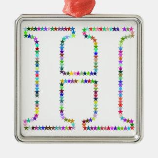 虹の星の手紙H メタルオーナメント