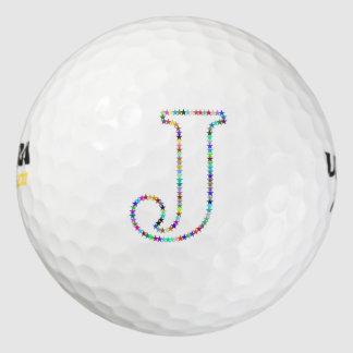 虹の星の手紙J ゴルフボール