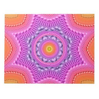 虹の星の曼荼羅 ノートパッド