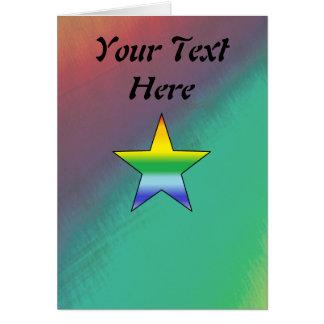 虹の星 カード